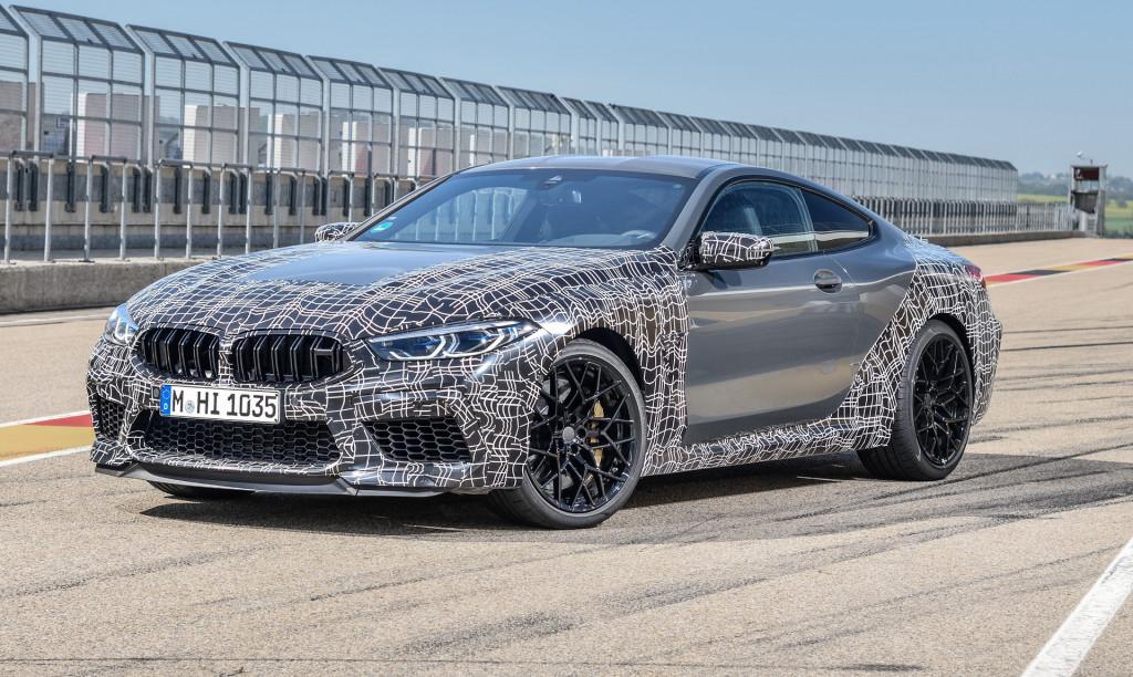 2020 BMW M8 prototype