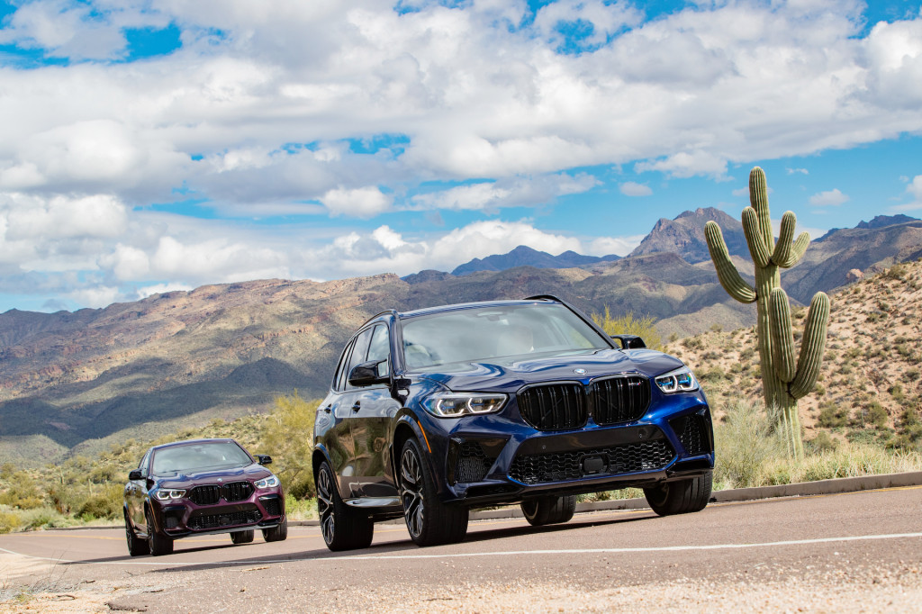 2020 BMW X5 M Competition and 2020 BMW X6 M Competition