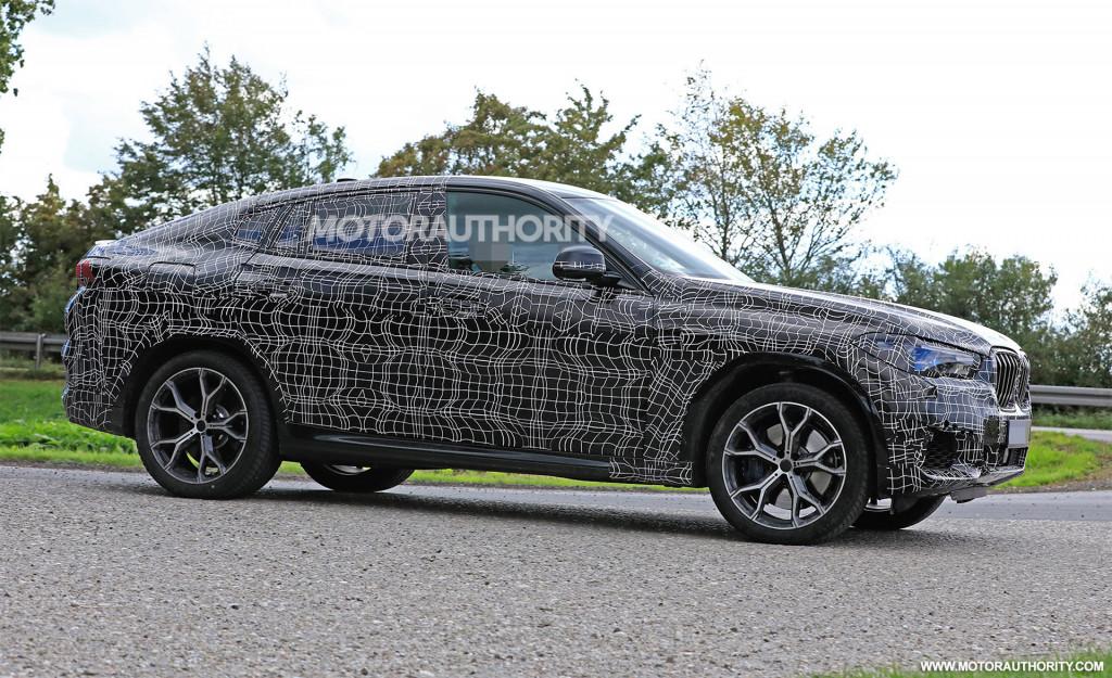 2020 BMW X6 spy shots