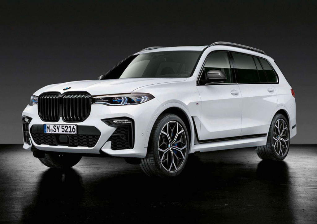 BMW shows off M Performance Parts for its big SUVs