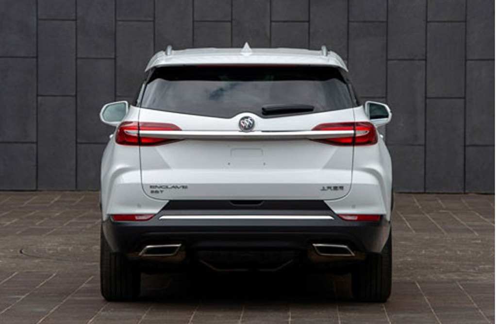 Mystery 3-row Buick revealed as Chinese-market Enclave