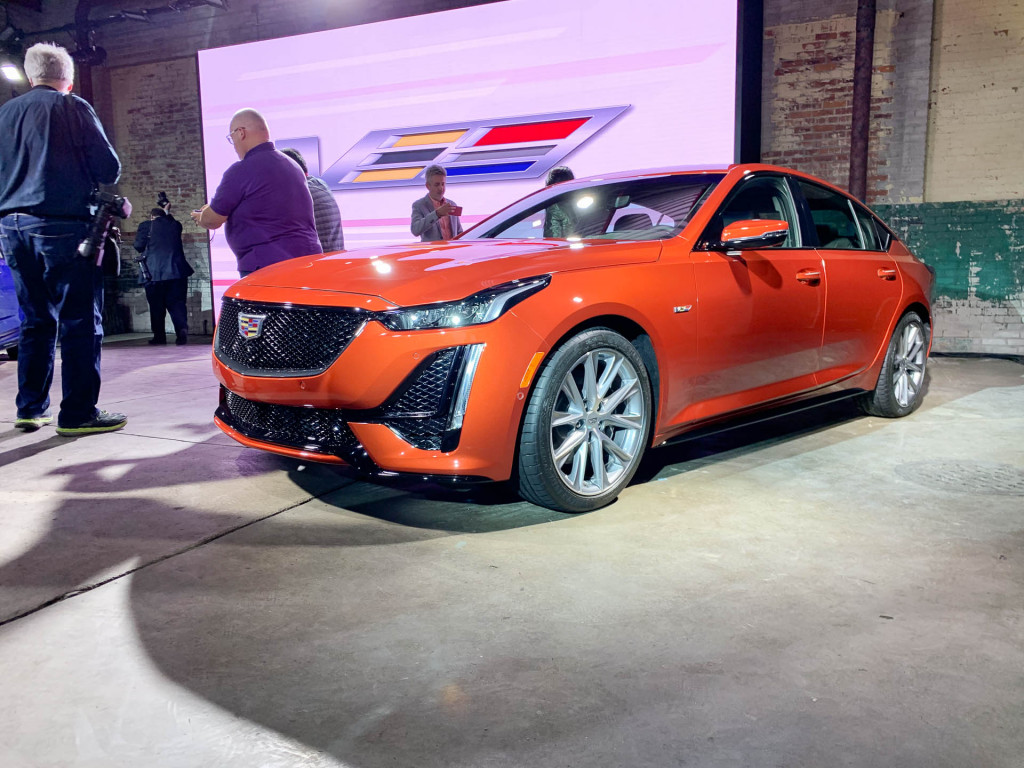 Down power 2020 Cadillac CT5-V arrives as part of split V series
