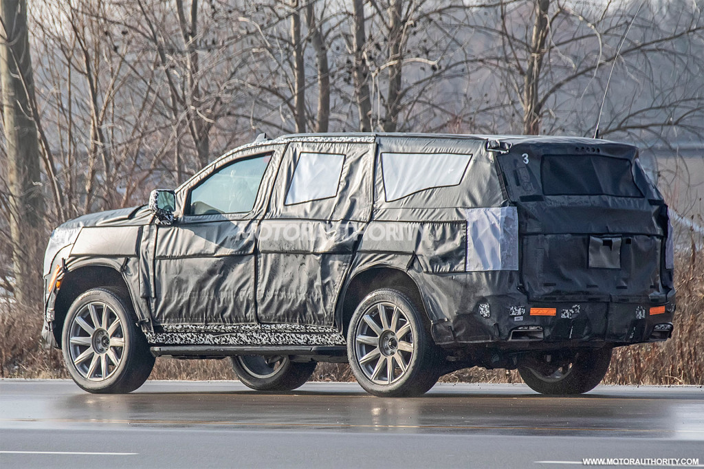2021 cadillac escalade spy shots | best tech magazine tech