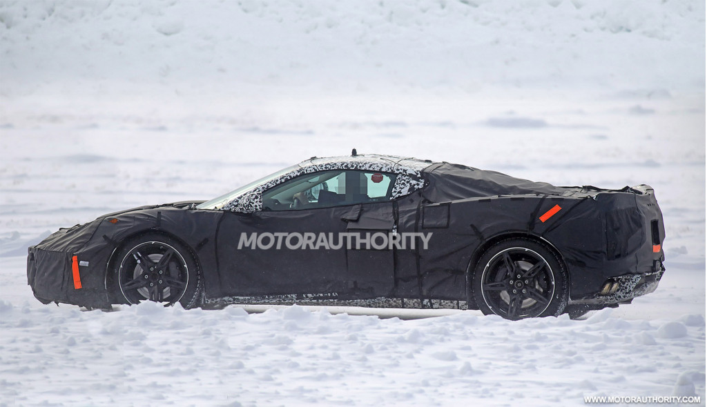 Chevy may have just shown dealers the mid-engine C8 Corvette