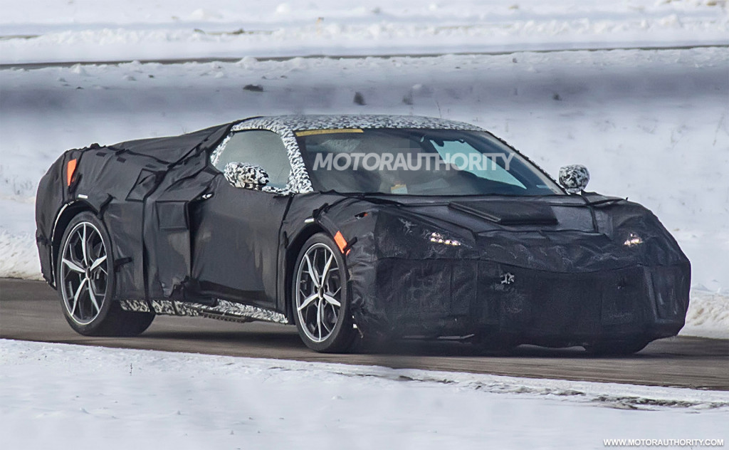 2020 Chevrolet Corvette (C8) spy shots