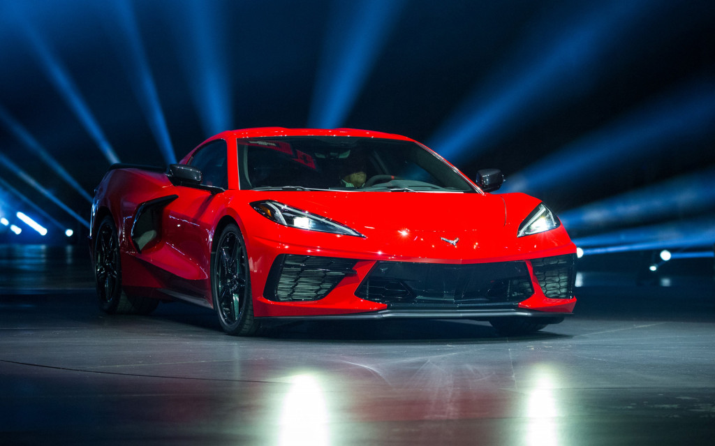 2020 Chevy Corvette Stingray's top speed is 194 mph, but Z51 is slower