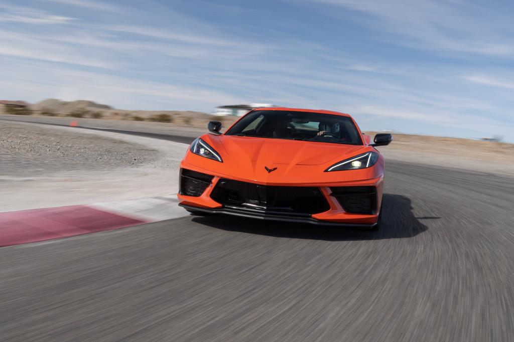 2020 Chevrolet Corvette media drive, Spring Mountain Motor Resort & Country Club, February 2020