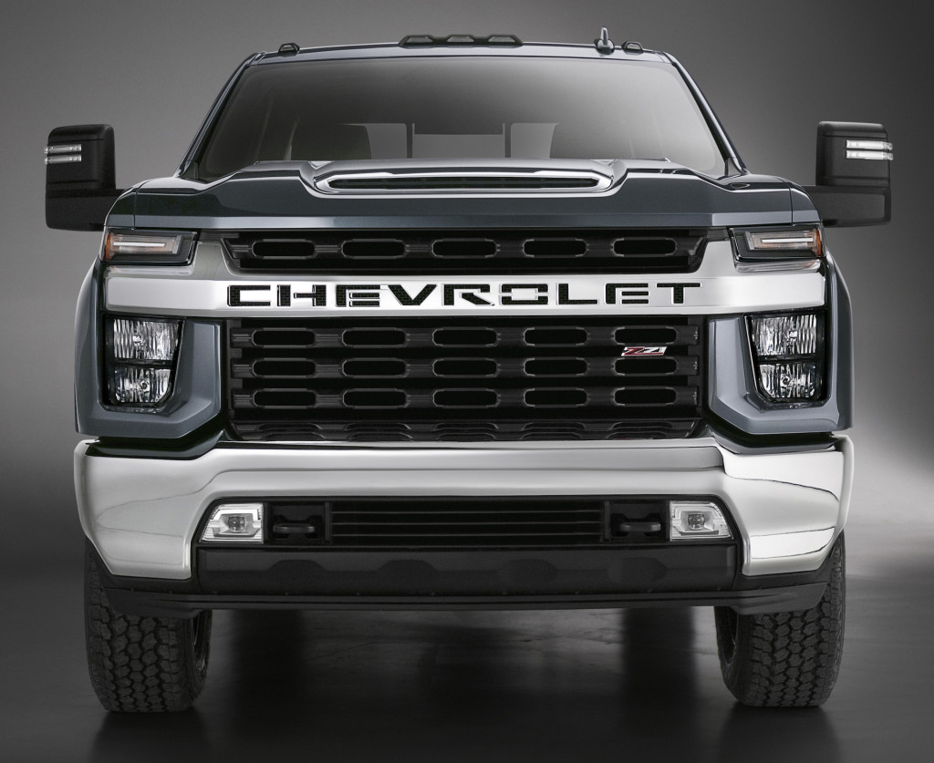 Chevrolet Silverado HD - what's with that face?