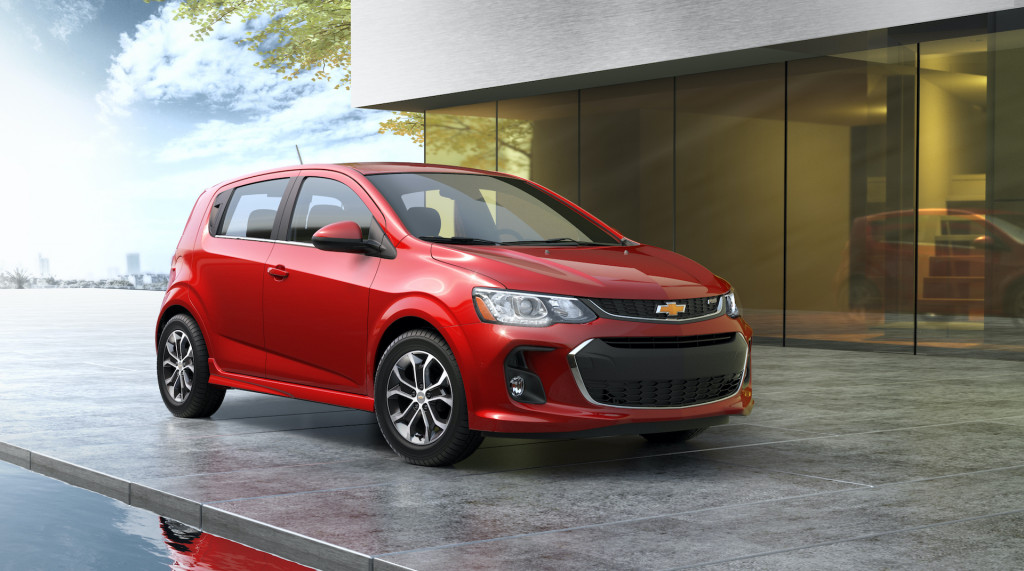 Another small car goes boom; Chevy Sonic won't return