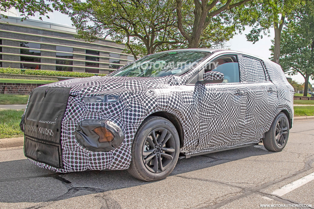 2020 Ford electric SUV spy shots - Image via S. Baldauf/SB-Medien