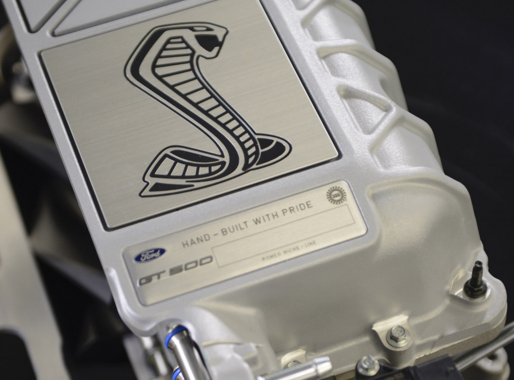 2020 Ford Mustang Shelby GT500's supercharger