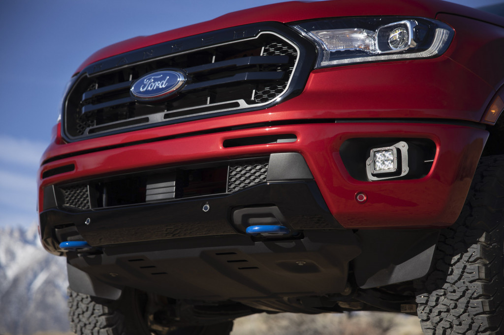 2020 Ford Ranger equipped with Ford Performance accessory packages