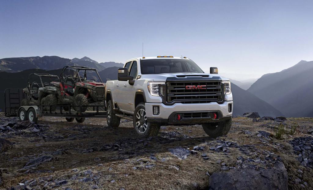 2020 GMC Sierra HD revealed: Taking pickup truck trailer tech to a new level