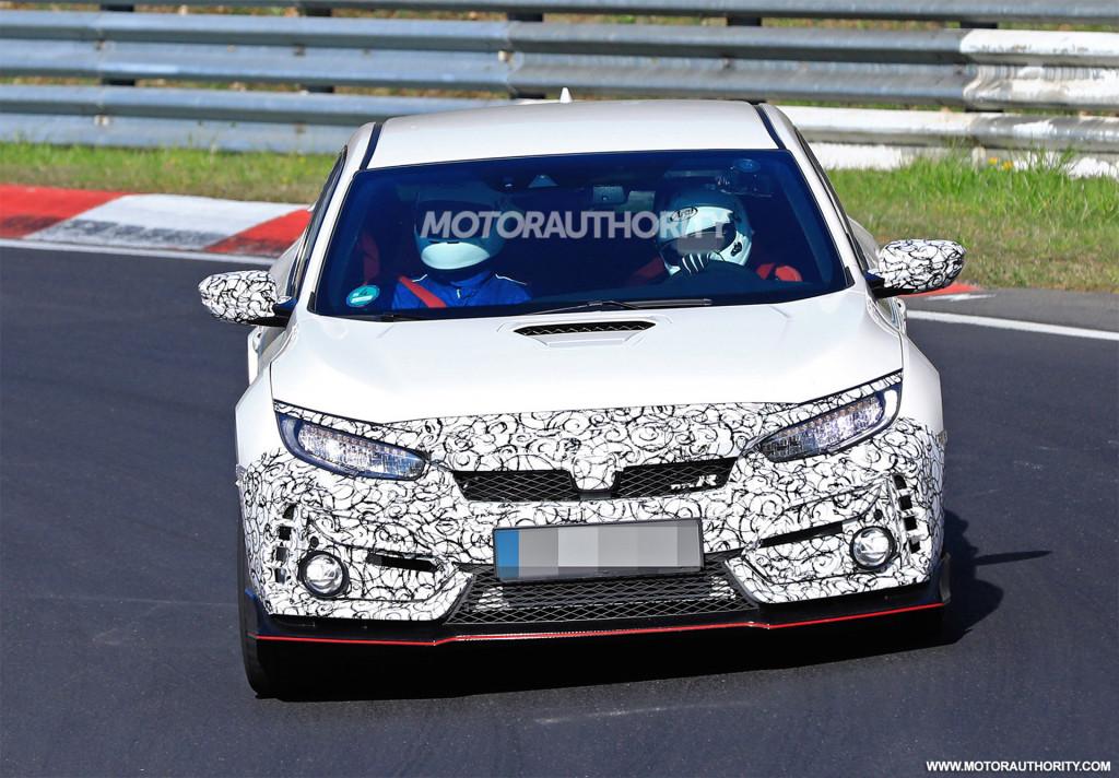 2020 Honda Civic Type R spy shots
