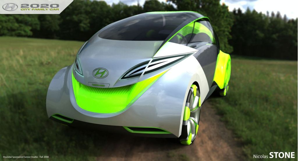 2020 Hyundai City Car concept by Nicholas Stone