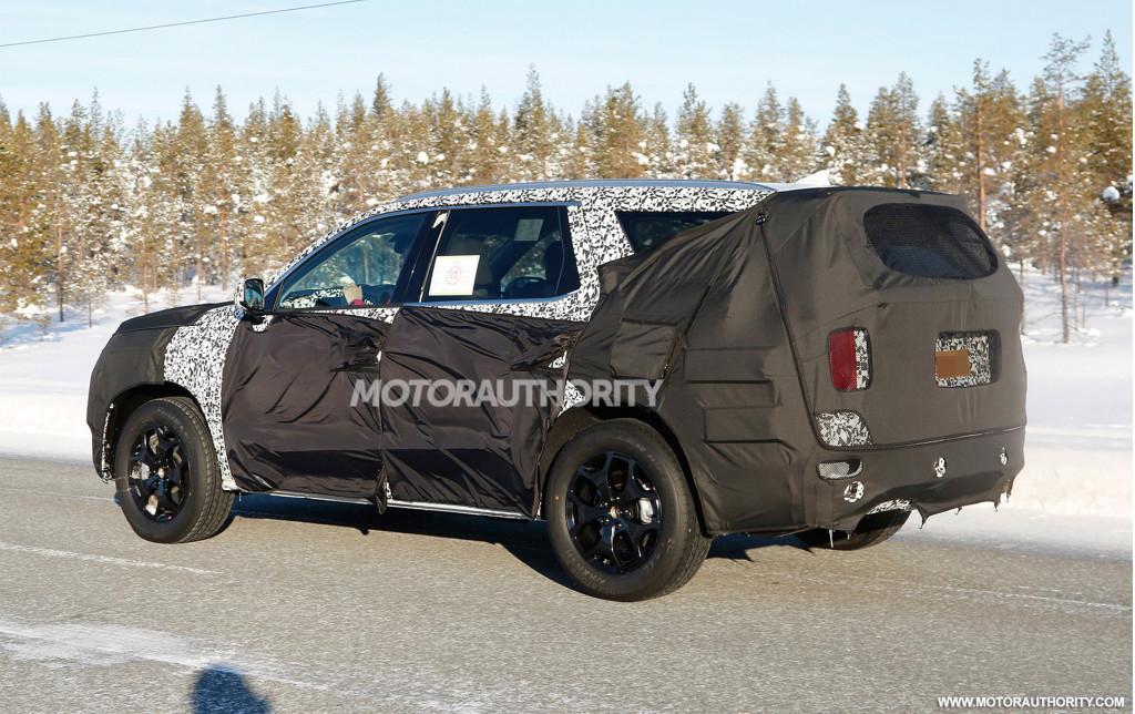 Image 2020 Hyundai Full Size Suv Spy Shots Image Via S