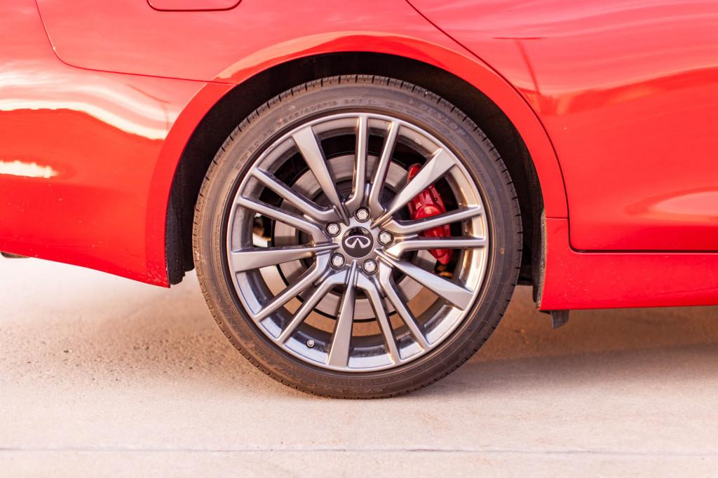 2020 Infiniti Q50 Red Sport