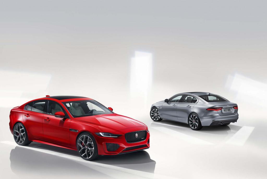 Sharpened claws: 2020 Jaguar XE sedan refreshed