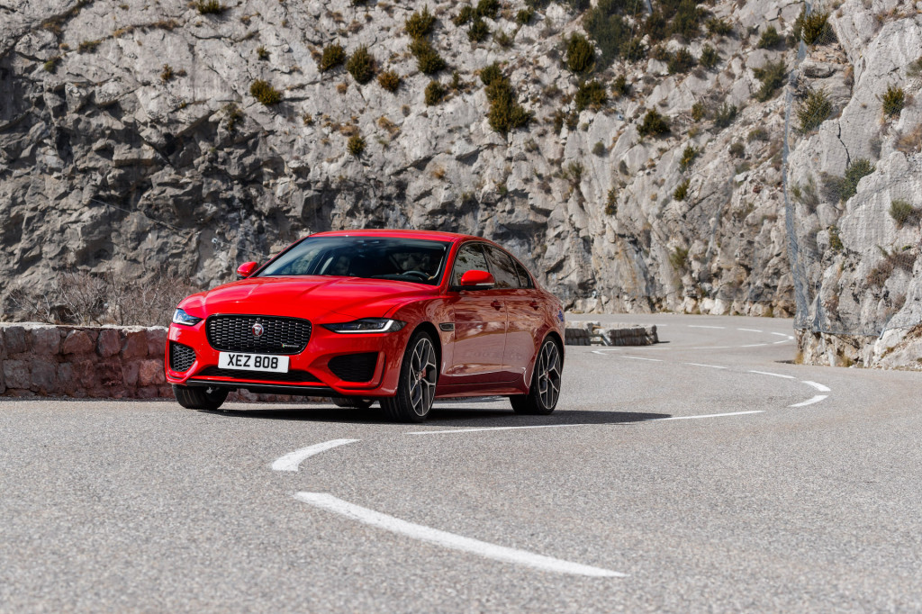 First drive review: The 2020 Jaguar XE puts gravity on hold