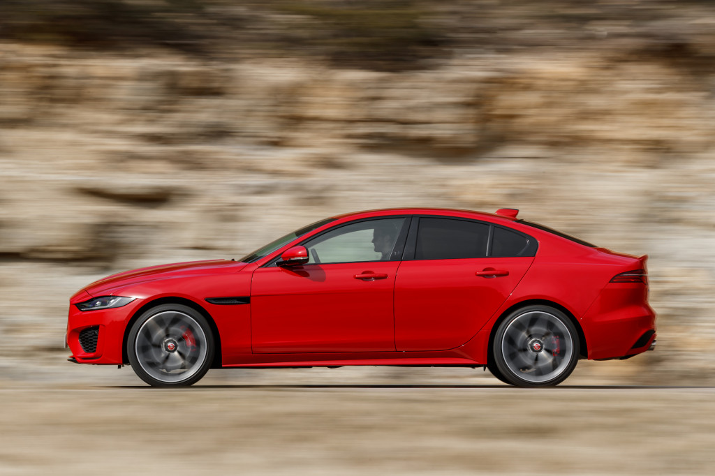 first drive review the 2020 jaguar xe puts gravity on hold