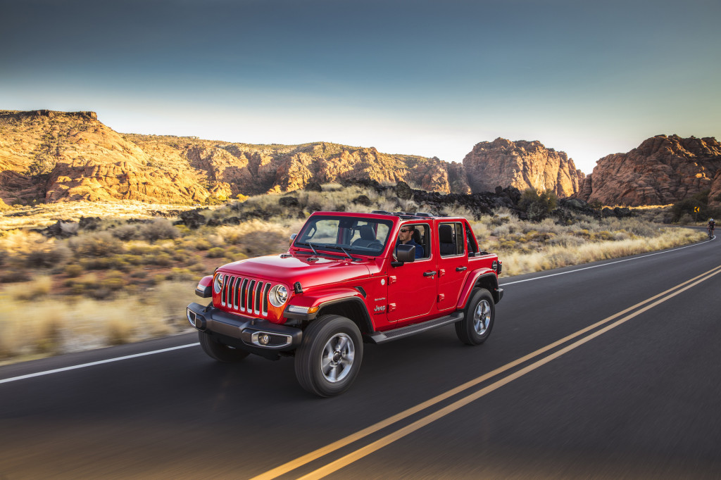 Jeep's car-sharing subscription service potentially called My Freedom