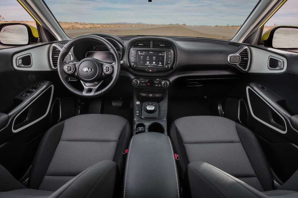 2020 kia soul ev rated for 243 miles improved efficiency