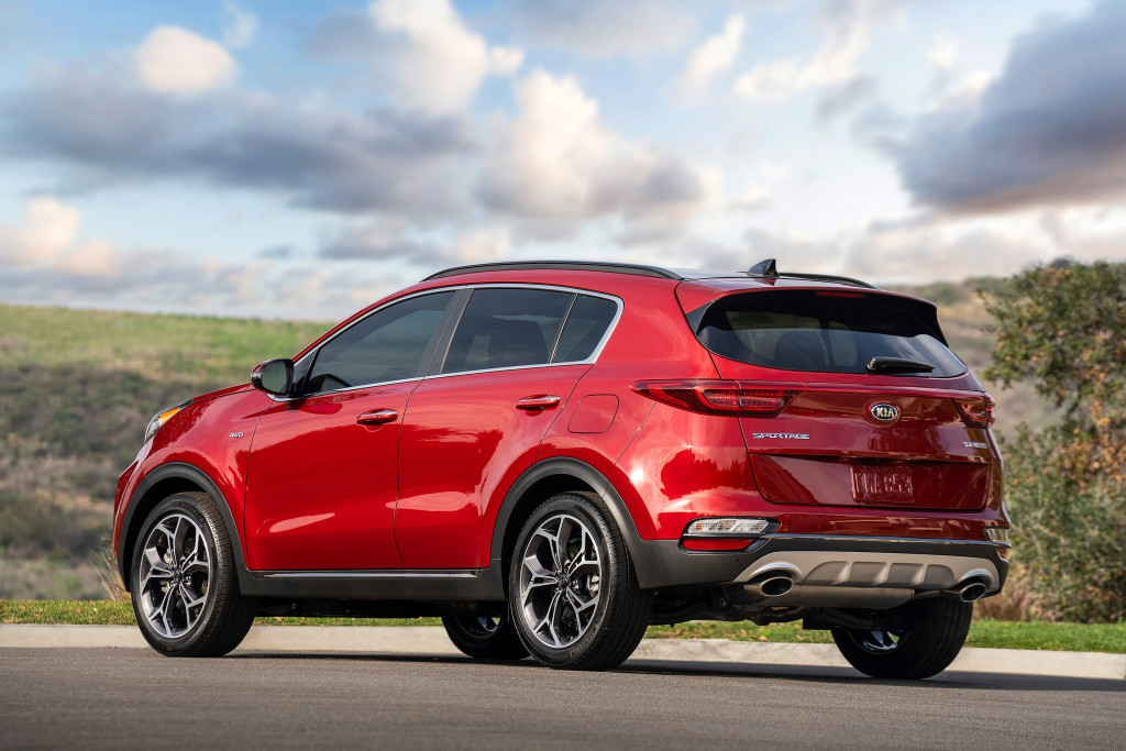 Updated 2020 Kia Sportage fuel economy climbs to 26 mpg combined