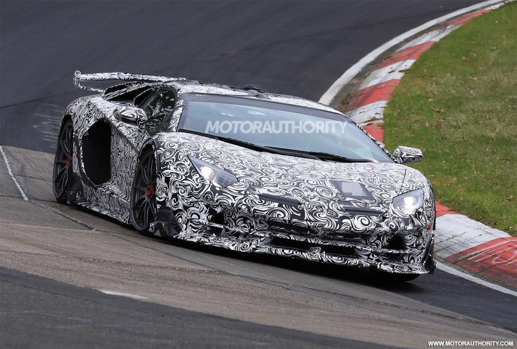 Will the Lamborghini Aventador SVJ break Porsche's production car Nürburgring record?