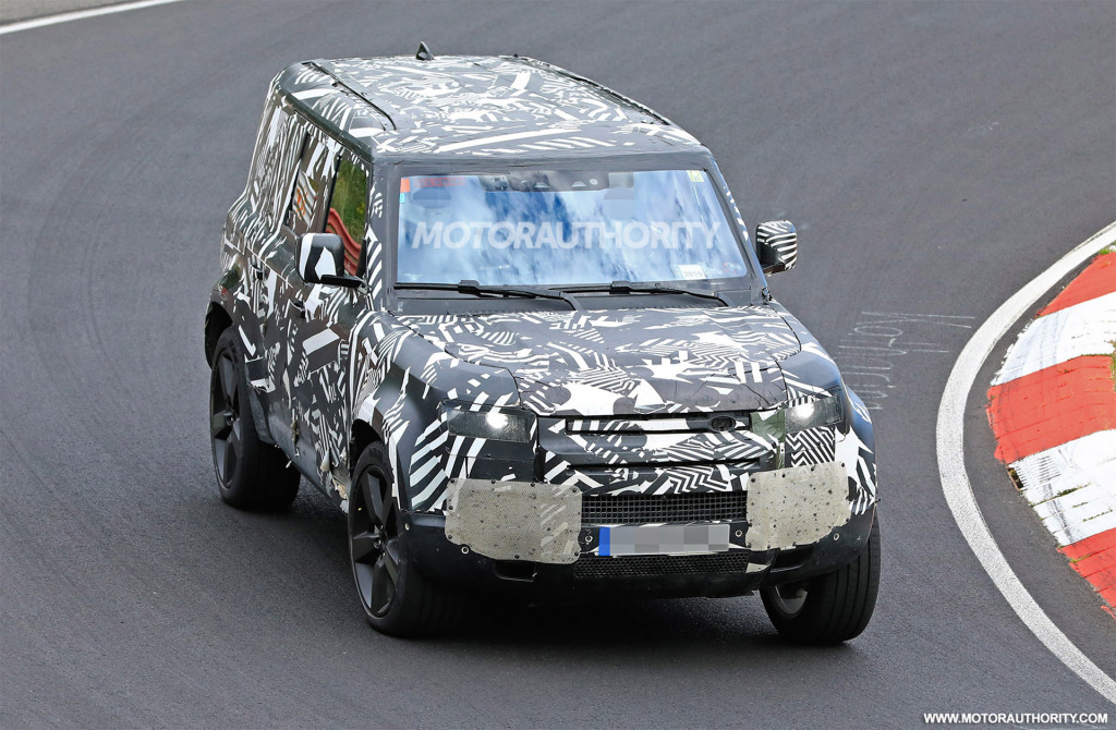 Leaked info reveals plans for 8-seat Land Rover Defender 130