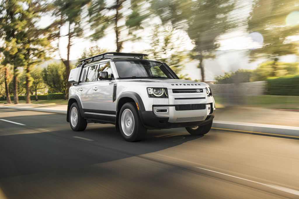 Review update: 2020 Land Rover Defender SUV looks the part