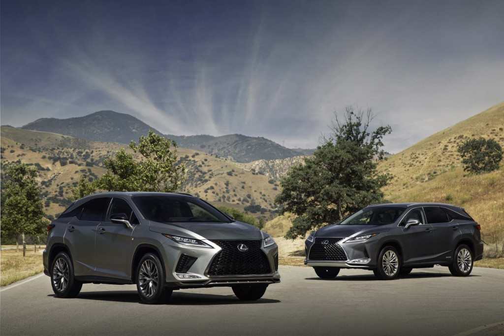 Updated 2020 Lexus RX and RX-L crossovers add Android Auto, costs $45,175 to start