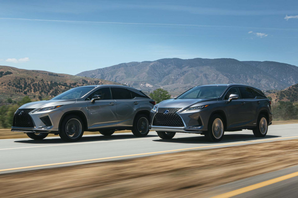 2020 Lexus RX earns Top Safety Pick due to improved headlights