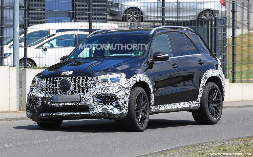 2020 Mercedes Amg Gle63 Spy Shots And Video