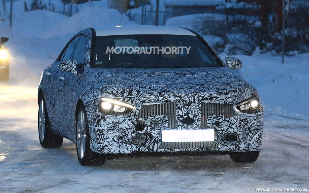 2020 Mercedes-Benz CLA spy shots