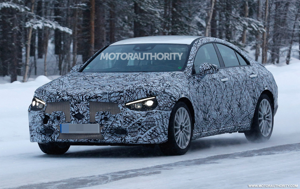 2020 Mercedes-Benz CLA spy shots