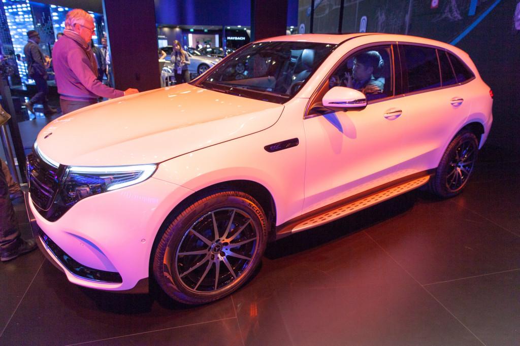 2020 Mercedes-Benz EQC, 2018 Paris auto show