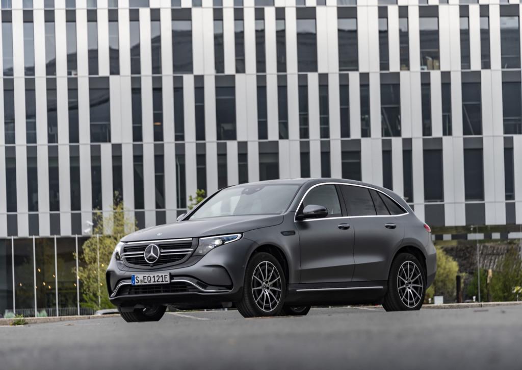 2020 Mercedes-Benz EQC challenges I-Pace, E-Tron at $68,895