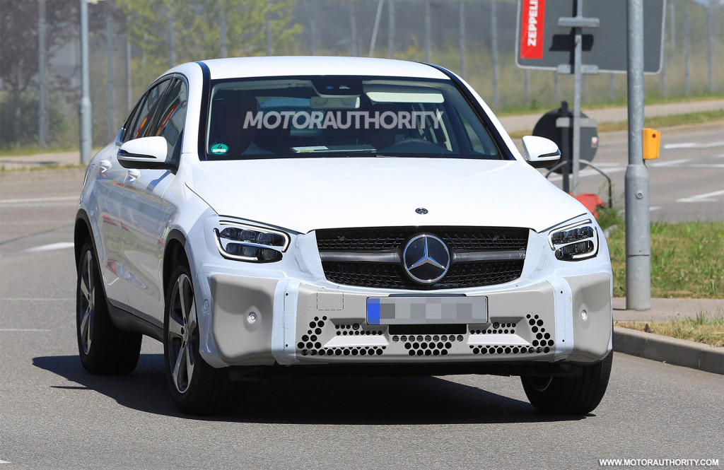 2020 Mercedes-Benz GLC Coupe spy shots