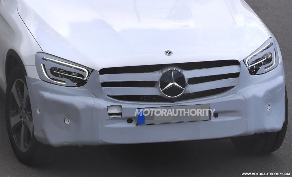 2020 Mercedes-Benz GLC spy shots