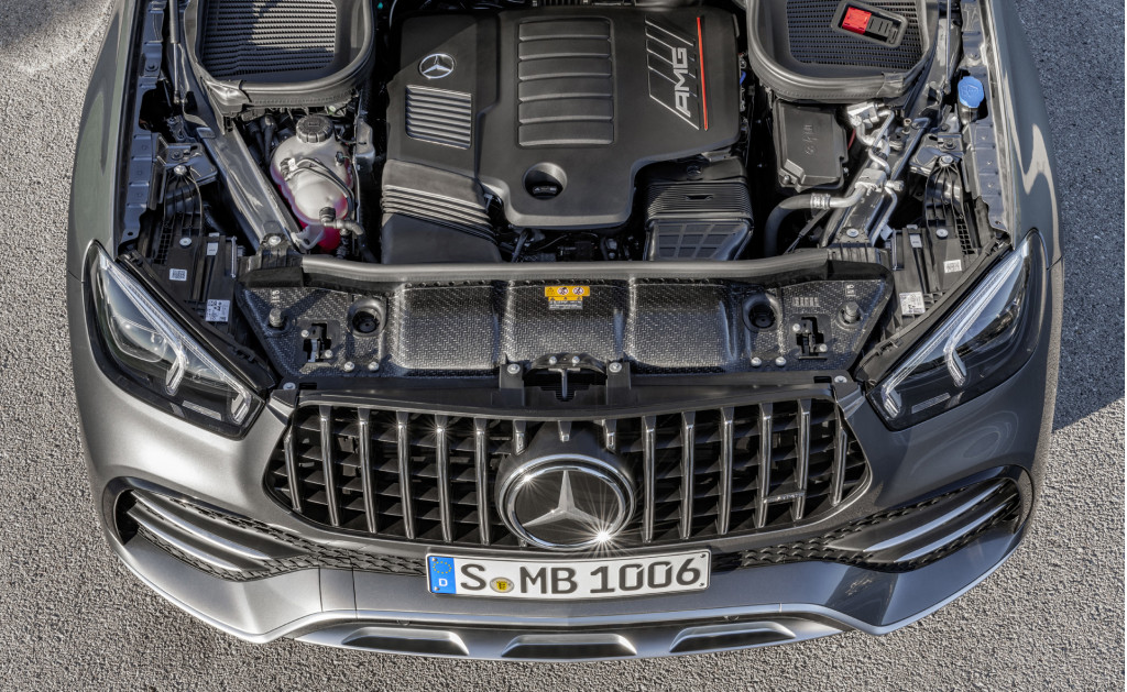 2021 Mercedes-AMG GLE53 Coupe spy shots and video
