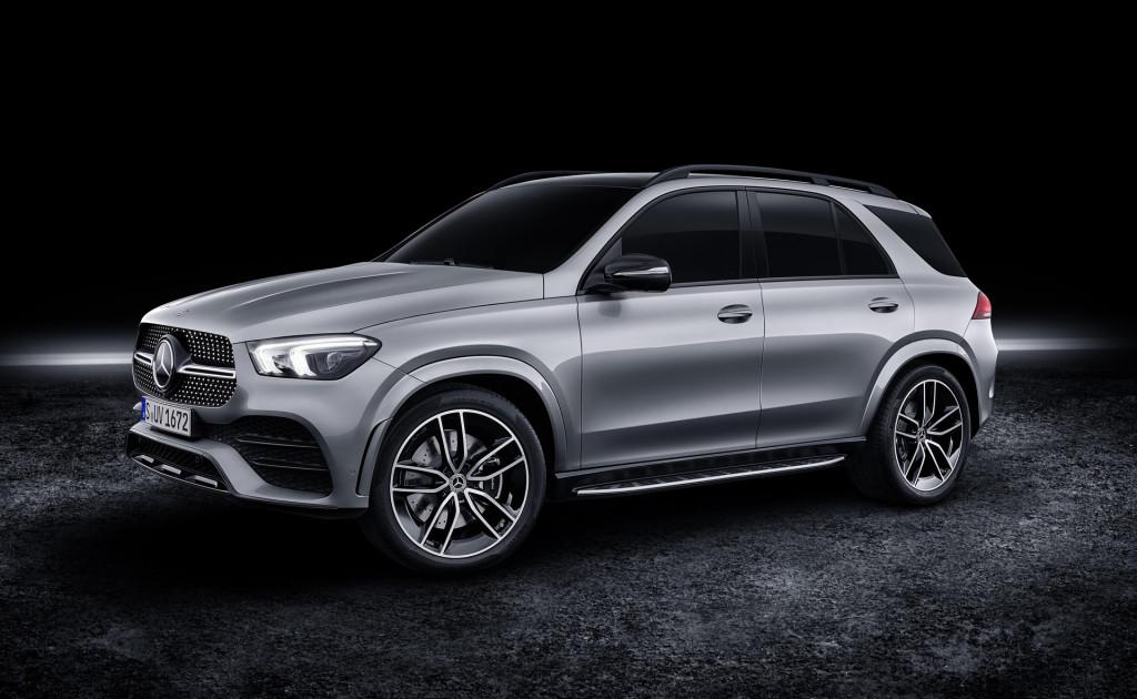 2020 Mercedes-Benz GLE580 arrives with mild-hybrid V-8 power
