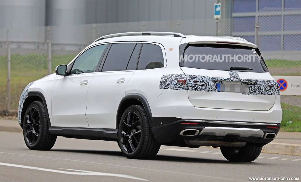 2021 Mercedes-AMG GLS 63 New Spy Photos Available >> Viewing Automotive Feeds World Professional News