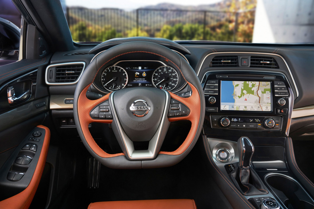2019 Nissan Maxima sedan sports new look, more safety tech