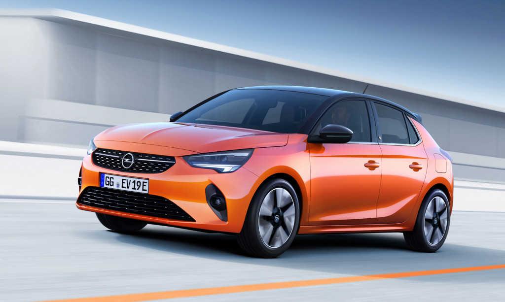 Opel's first car post GM is the 2020 Corsa-e electric hatch