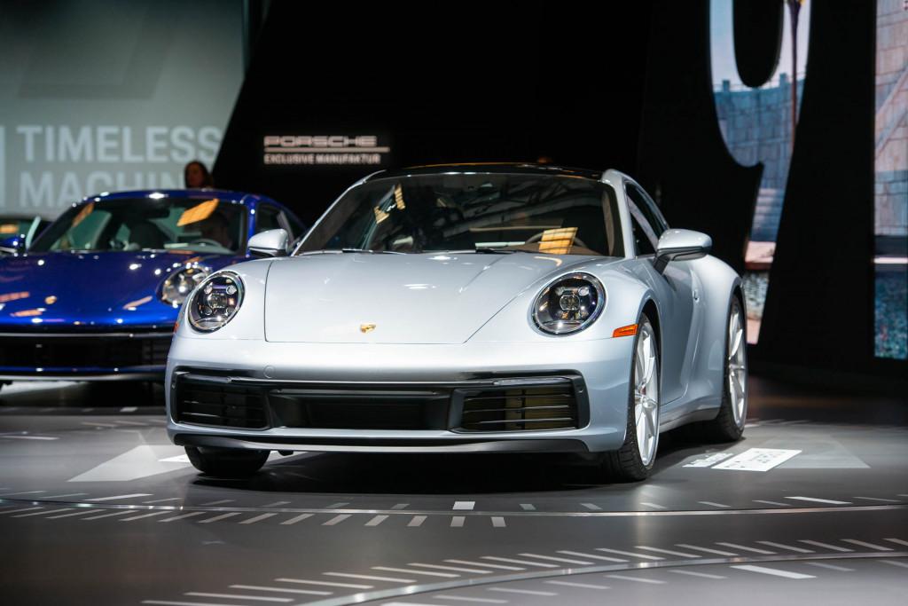 2020 Porsche 911, 2018 LA Auto Show