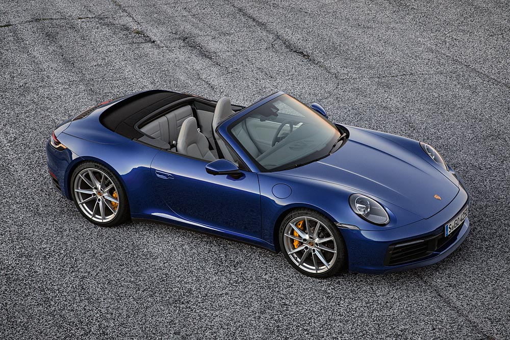 2020 Porsche 911 Cabriolet Revealed With New Looks Faster Top Operation More Power