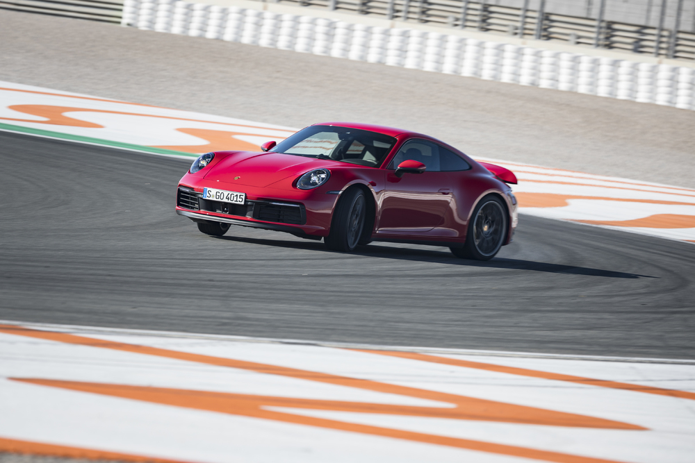 2020 Porsche 911 Carrera S, Circuit Ricardo Tormo, Valencia, Spain, January 2019