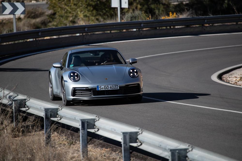 2020 Porsche 911 Carrera S, Valencia, Spain, January 2019