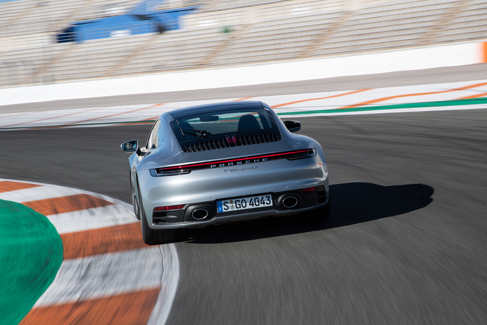 2020 Porsche 911 Carrera 4S, Valencia, Spain, January 2019