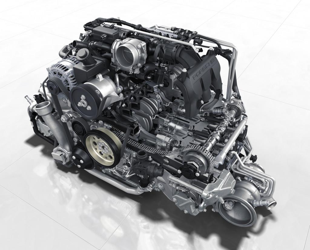 2020 Porsche 911 Carrera twin-turbo 3.0-liter flat-6